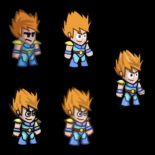 Lava Blade Lars progression