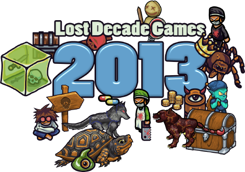 Lost Decade Games in 2013
