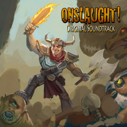 Onslaught! OST cover